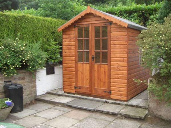 Shed With Windows Made By West Lancs Sheds