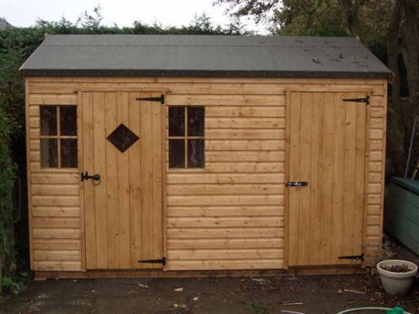 Shed And Playhouse Combi Made By West Lancs Sheds